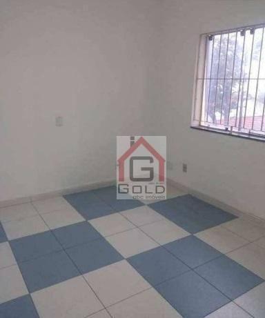 Sobrado com 4 dormitórios para alugar, 250 m² por R$ 4.500/mês - Campestre - Santo André/S - Foto 18