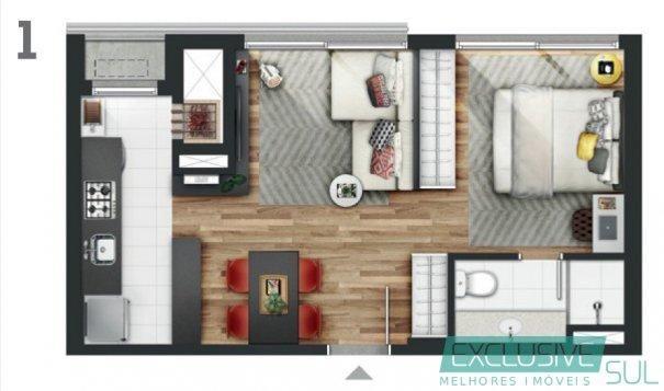 Apartamento mobiliado completo no Hola Parque Una, situado no 16º andar - Foto 2