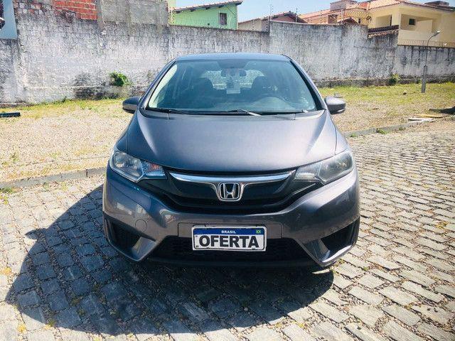 Honda Fit 2015 LX 1.5 Aut Único dono - Foto 2