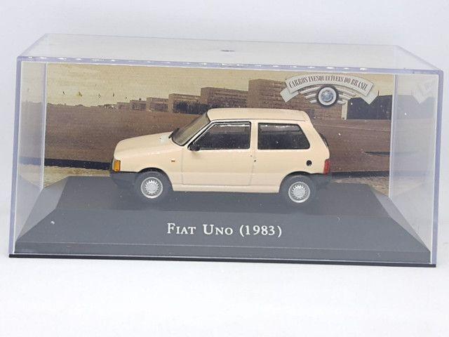 Miniatura Fiat Uno 1983 escala 1:43 - Foto 4