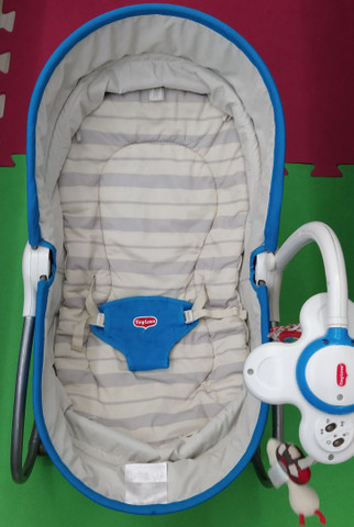 Cadeira de Descanso 3 em 1 para Bebês até 18 kg - Tiny Love<br><br>
