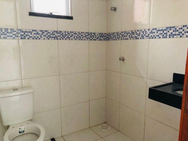 WS casa nova com 3 quartos,2 banheiros,coz.americana,quintal com otima localização - Foto 10