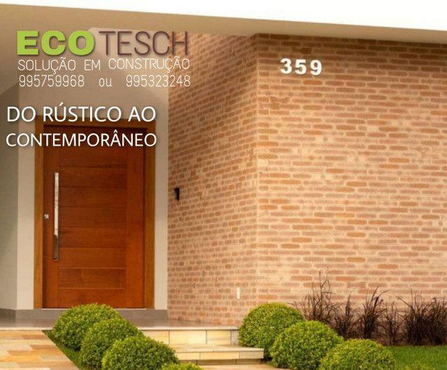 Casa de tijolinho ecologico de 350 a 450m3 - Foto 11