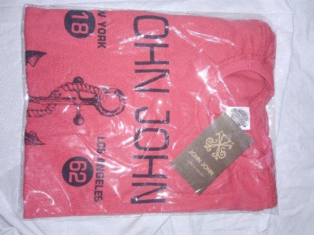 Camisetas diversas marcas jogo com 10 pecas - Foto 6