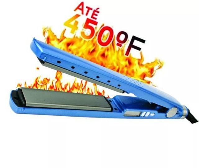 Prancha Chapa Alisadora Nano Titanium 450ºF Graus Bivolt Wpp: *