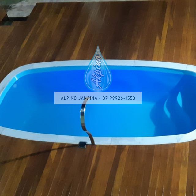 JA Promocao de piscina de fibra - Foto 2