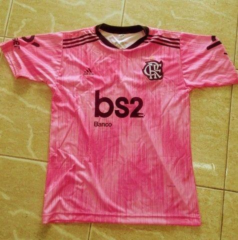 Camisas antigas do Bahia e Flamengo - Foto 6
