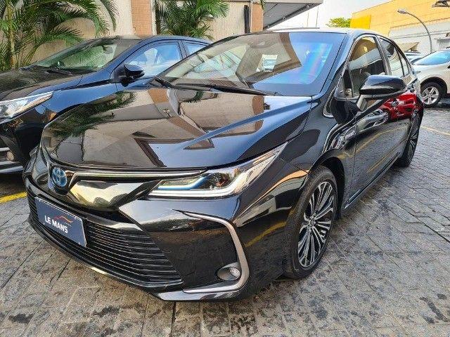 Toyota Corolla Altis Premium Hybrid, Blindado 3A, Apenas 11 mil km, Impecavel - Foto 3