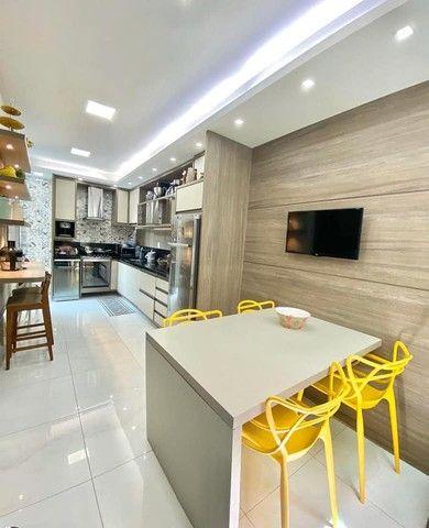 Linda casa em condomínio, 3 suítes, closet, perto da Fraga Maia. - Foto 5