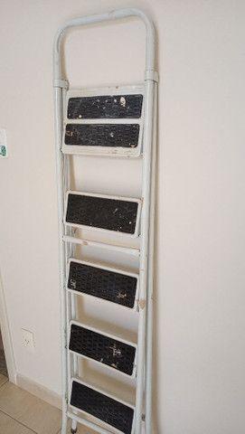 Escada de ferro 5 degraus - Foto 3