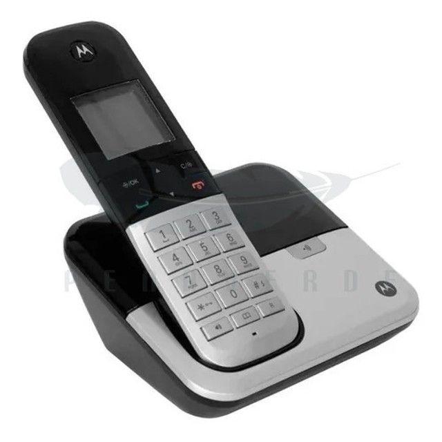 Telefone Motorola fixo DECT 6.0 M6500 - Foto 3