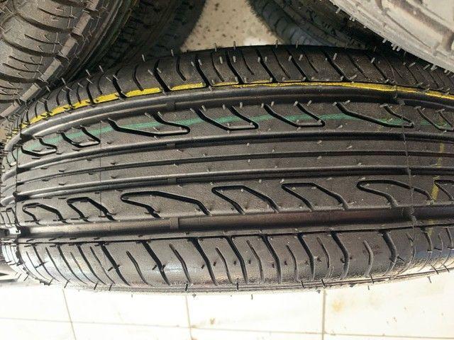 Jogo de rodas novas com pneus novos aro 14 - Foto 3