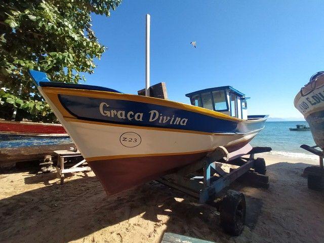 Casco traineira barco