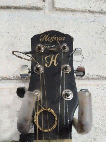 Violão folk elétrico Hofman.. - Foto 3