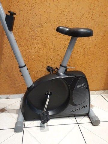 Bicicleta ergométrica  Caloi usada - Foto 4