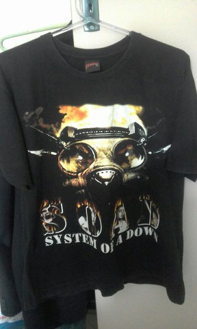 Camisa System Of a Down