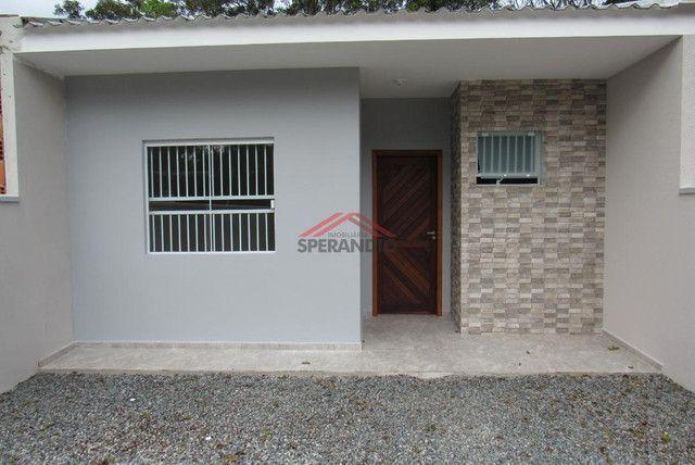 ? Casa nova c/ 2 quartos, ótimo padrão de acabamento R$139.500,00 - Baln. Brandalize - Foto 3