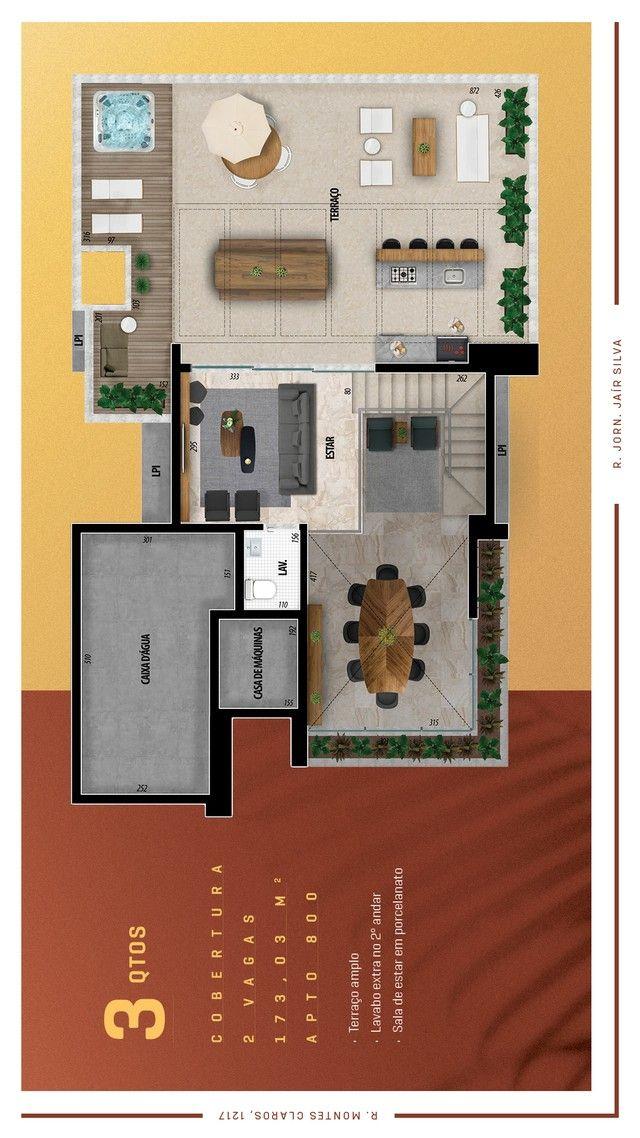 Apartamento para venda possui 114 metros quadrados com 3 quartos em Anchieta - Belo Horizo - Foto 17