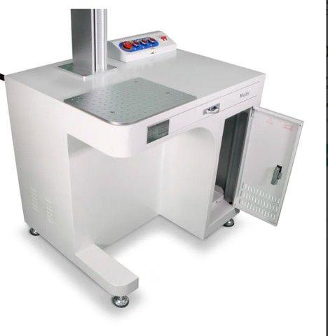 Máquina de Gravação a Laser Fiber Galvanométrica Desktop 20W e 30W- a  partir R$ 30.439,50 - Foto 4
