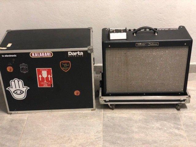 Fender Hot rod Deluxe USA Com Hardcase - Foto 5