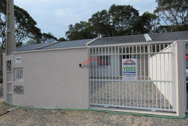 ? Casa nova c/ 2 quartos, ótimo padrão de acabamento R$139.500,00 - Baln. Brandalize - Foto 2