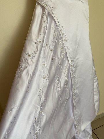 Vestido de noiva bordado - Foto 3
