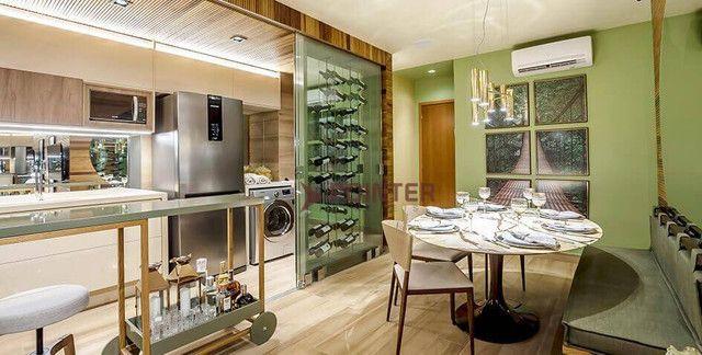 Apartamento com 3 dormitórios à venda, 83 m² por R$ 560.000,00 - Setor Oeste - Goiânia/GO - Foto 2