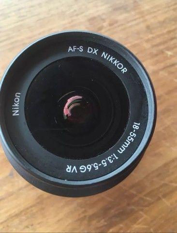 Pra vender LOGO Lente Nikon 18-55  - Foto 2