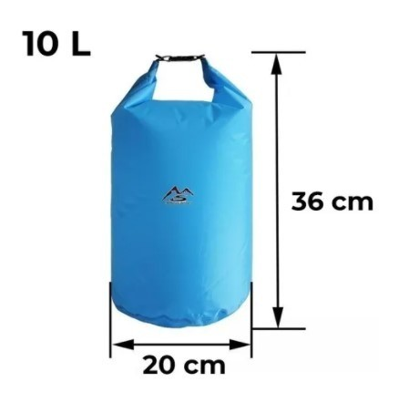 Bolsa Saco Estanque Prova d'agua - 10 litros<br><br><br><br>