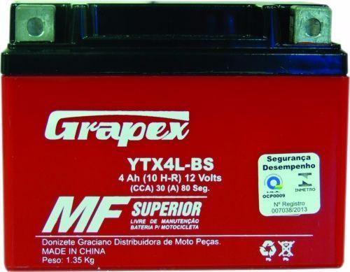 Baterias novas para motos a partir de R65,00