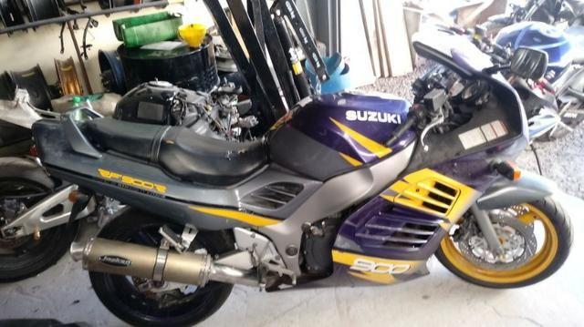 Moto P/ Retirada De Peças / Sucata Honda Suzuki RF 900 Ano 1994 E 1997 - Foto 8
