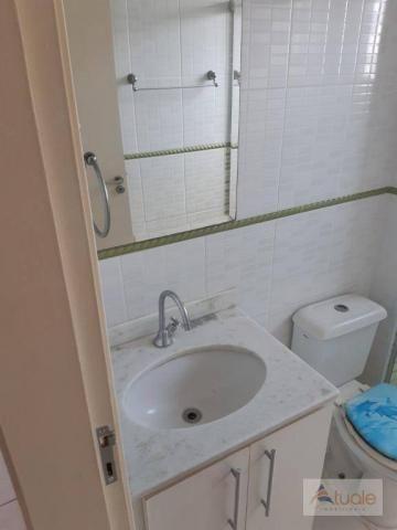 Apartamento com 2 dormitórios para alugar, 46 m² por r$ 1.050,00/mês - parque villa flores - Foto 16