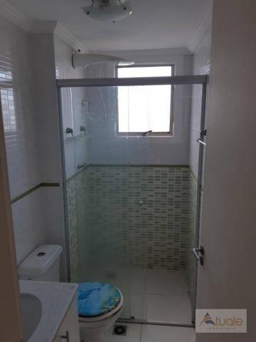 Apartamento com 2 dormitórios para alugar, 46 m² por r$ 1.050,00/mês - parque villa flores - Foto 15