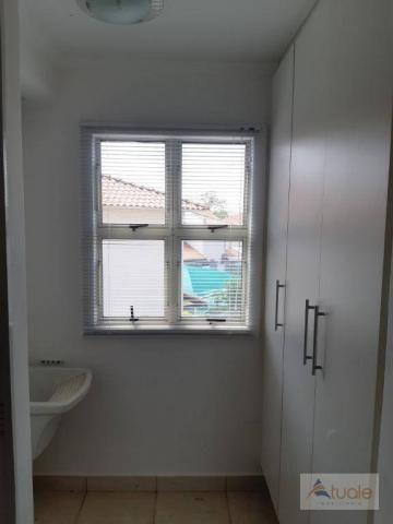 Apartamento com 2 dormitórios para alugar, 46 m² por r$ 1.050,00/mês - parque villa flores - Foto 5