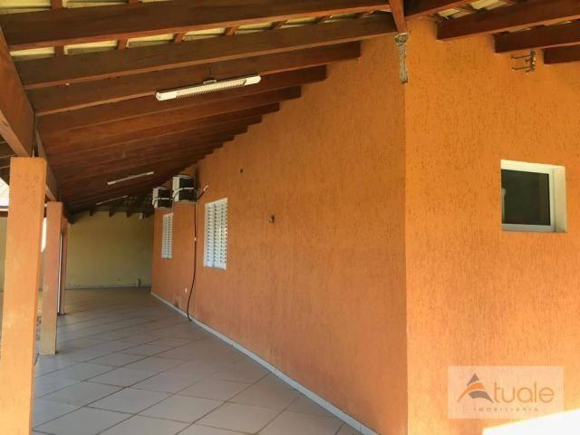 Chácara com 6 dormitórios para alugar, 1354 m² por r$ 5.000,00/mês - chácara recreio alvor - Foto 20