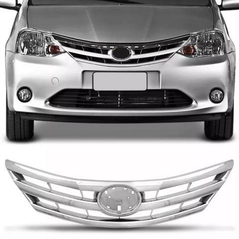 Grade Radiador Cromada Toyota Etios 2012 2013 2014 2015 2016