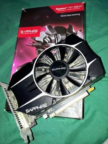 Radeon R7 260x 2gb versão OC