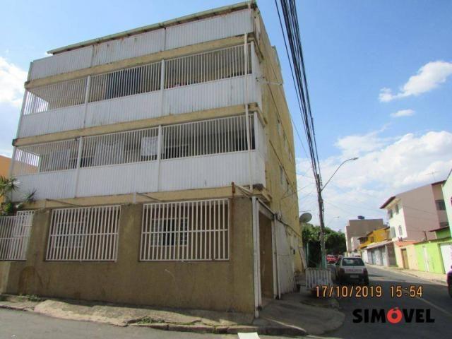 Apartamento com 2 dormitórios para alugar, 35 m² por R$ 700,00/mês - Riacho Fundo - Riacho
