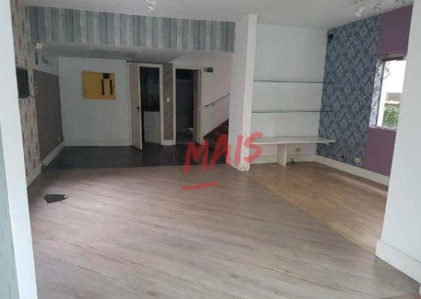 Sobrado comercial para alugar, 530 m² - Vila Mathias - Santos/SP - Foto 3