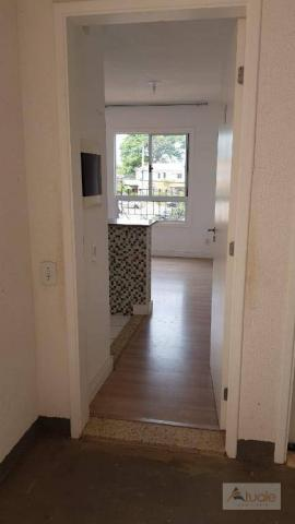Apartamento com 3 dormitórios à venda, 63 m² - Villa Flora Hortolandia - Hortolândia/SP - Foto 2