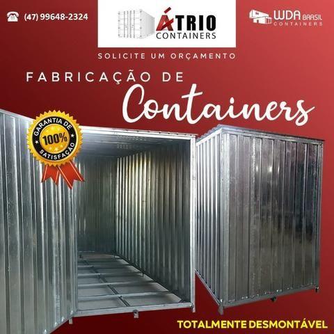 Container desmontável de 3m. - Foto 2