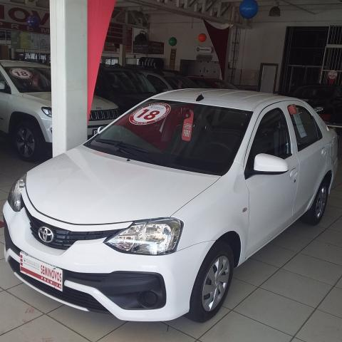 TOYOTA ETIOS 2017/2018 1.5 X SEDAN 16V FLEX 4P MANUAL