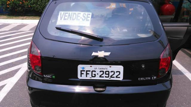 Vendo Celta Spirit/LT 1.0 - Flex 4 portas ano 2012 - Único dono - Foto 8