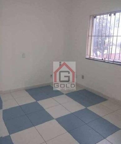 Sobrado com 4 dormitórios para alugar, 250 m² por R$ 4.500/mês - Campestre - Santo André/S - Foto 3