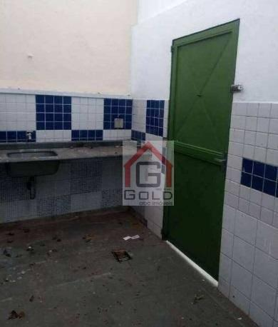 Sobrado com 4 dormitórios para alugar, 250 m² por R$ 4.500/mês - Campestre - Santo André/S - Foto 15