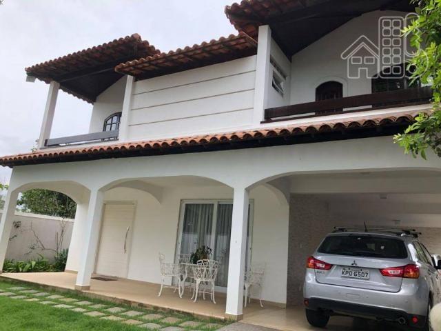 Casa com 5 dormitórios à venda, 384 m² por R$ 1.900.000,00 - Camboinhas - Niterói/RJ