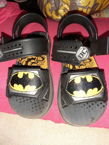 Sandália Batman número 30