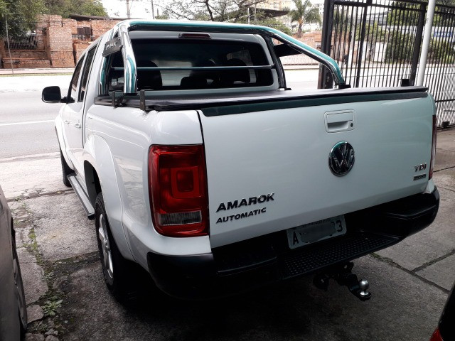 Amarok 2.0 Trendline 4x4 CD 2014 Autom. Turbo Intercooler Diesel - Foto 3