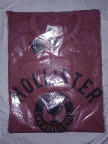 Camisetas diversas marcas jogo com 10 pecas - Foto 4