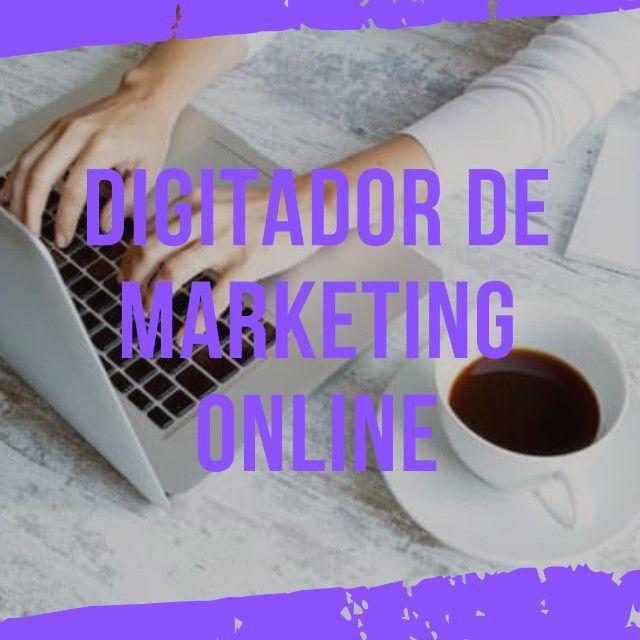 Vaga para Trabalho de Digitador de Marketing Online